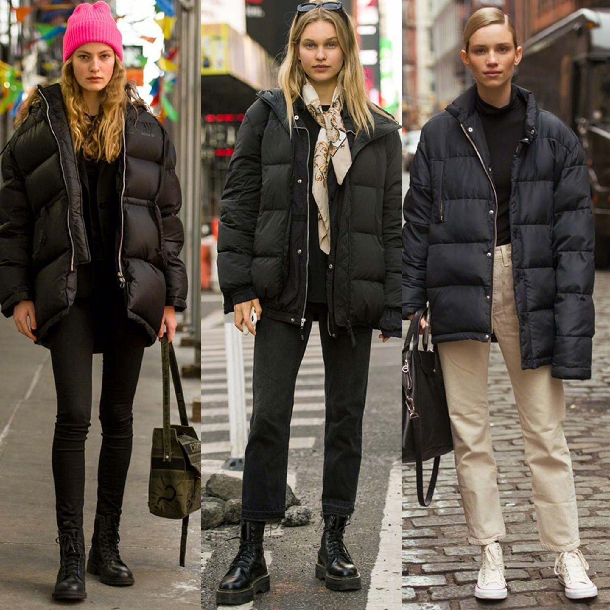 """看欧美女生的时尚街拍,""""风度和温度""""缺一不可,没有滤镜照样美"""