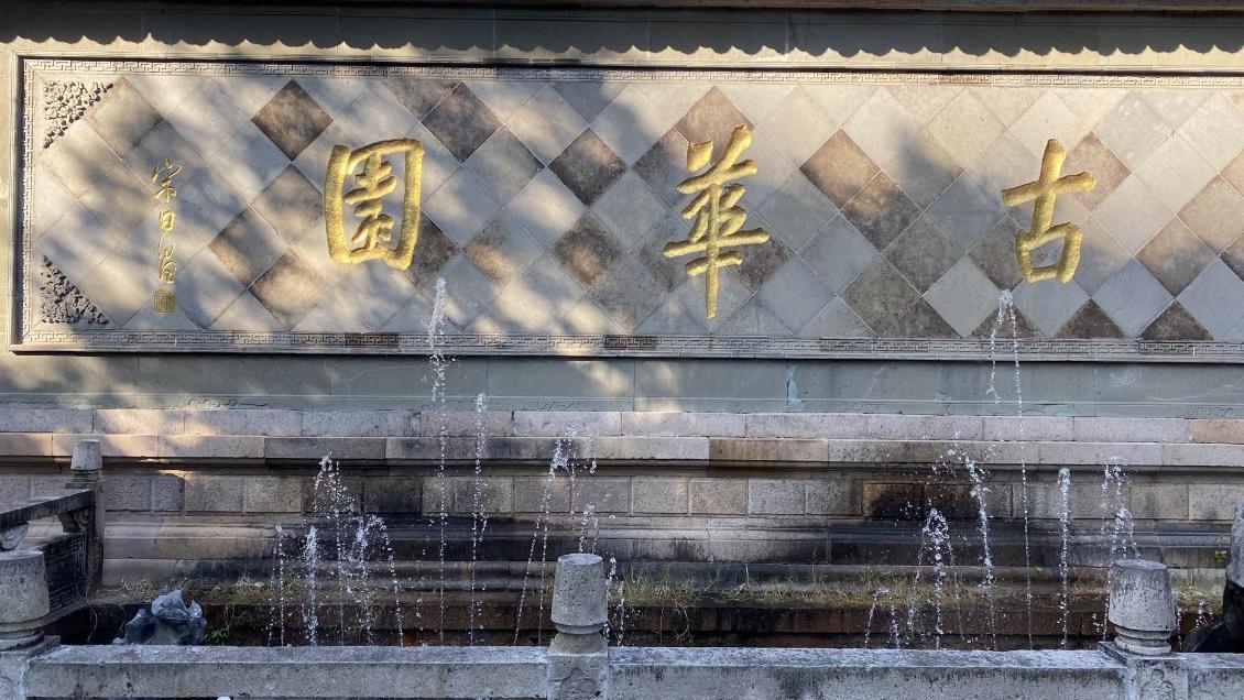 """上海    """"双湖""""公园,内藏300年古桥,堪称上海宝藏"""