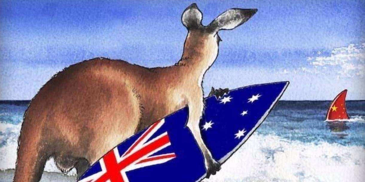 """澳大利亚可不是2000万人口的小国,而是""""第一帝国""""的一部分 △澳大利亚长期敌视、抹黑中国  """"世上决没有无缘无故的爱,也没有无缘无故的恨"""",那么与中国相隔万里,且在历史上并没有任何过节的澳大利亚,为"""