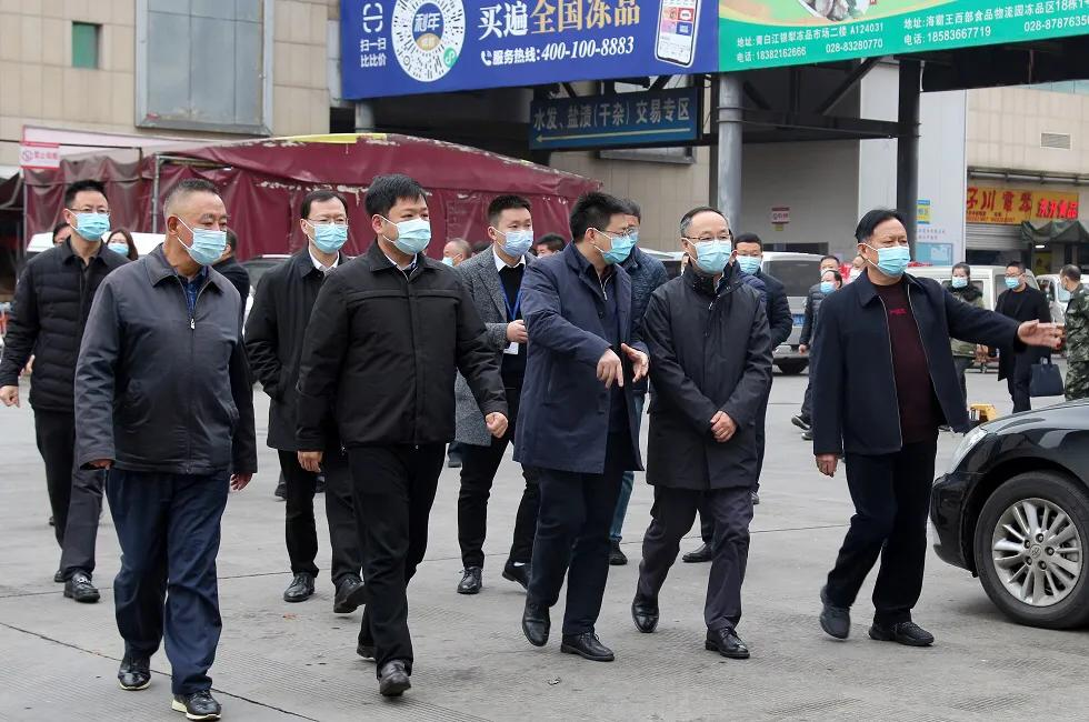 四川省副省长李云泽调研成都银犁市场新冠疫情防控工作
