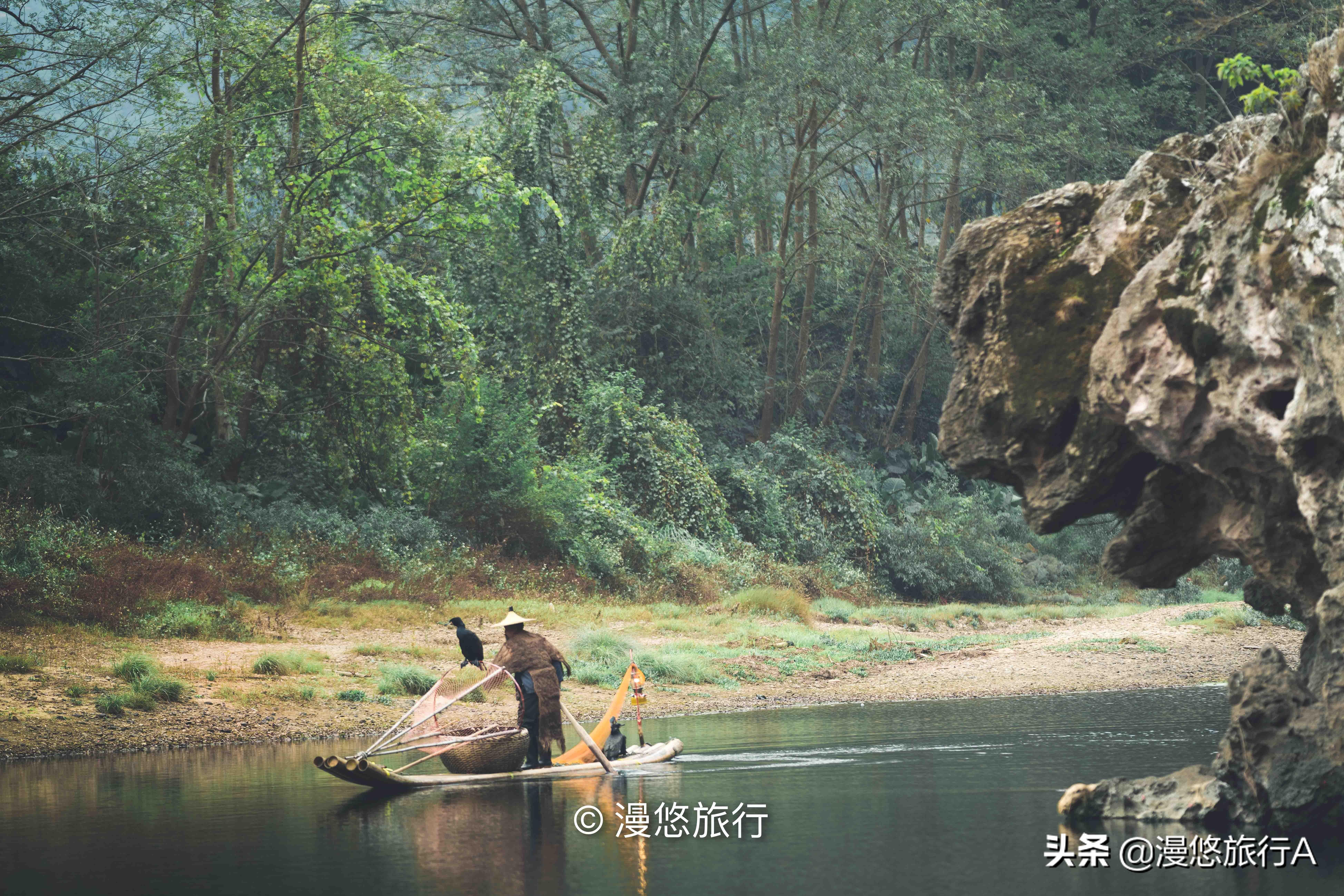 中国最美山水不在桂林市,藏在兴坪镇的山水才是资深旅行者的天堂