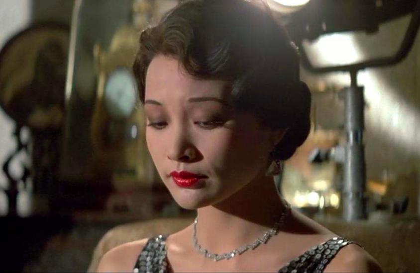 末代皇帝香港重映,女主角陈冲拿过五个金马奖?国内成名后去美国