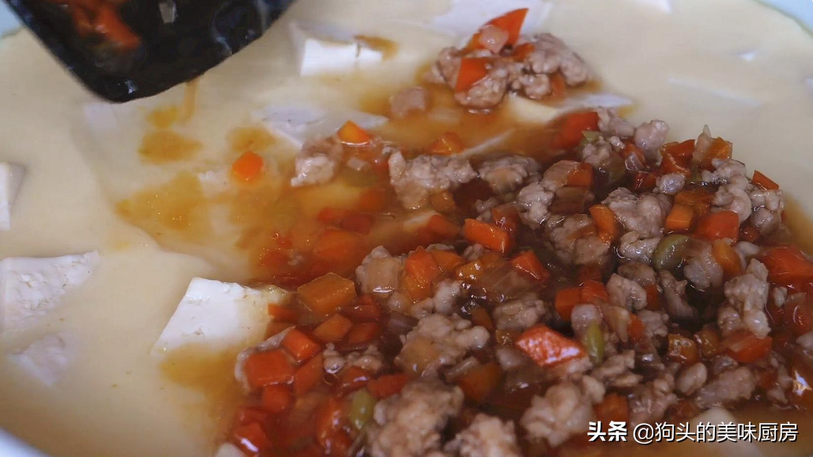 豆腐切成丁,不炒不煎不油炸,连吃一个月也不腻,营养丰富又美味 美食做法 第18张
