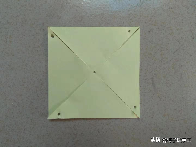 风车的做法手工折纸简单