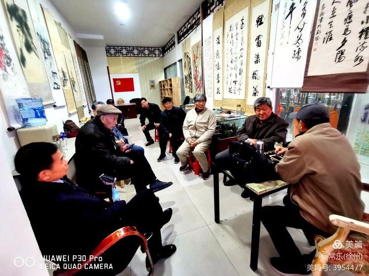 马市街古玩城徐州收藏家协会艺术品鉴赏中心――听夏书记讲收藏