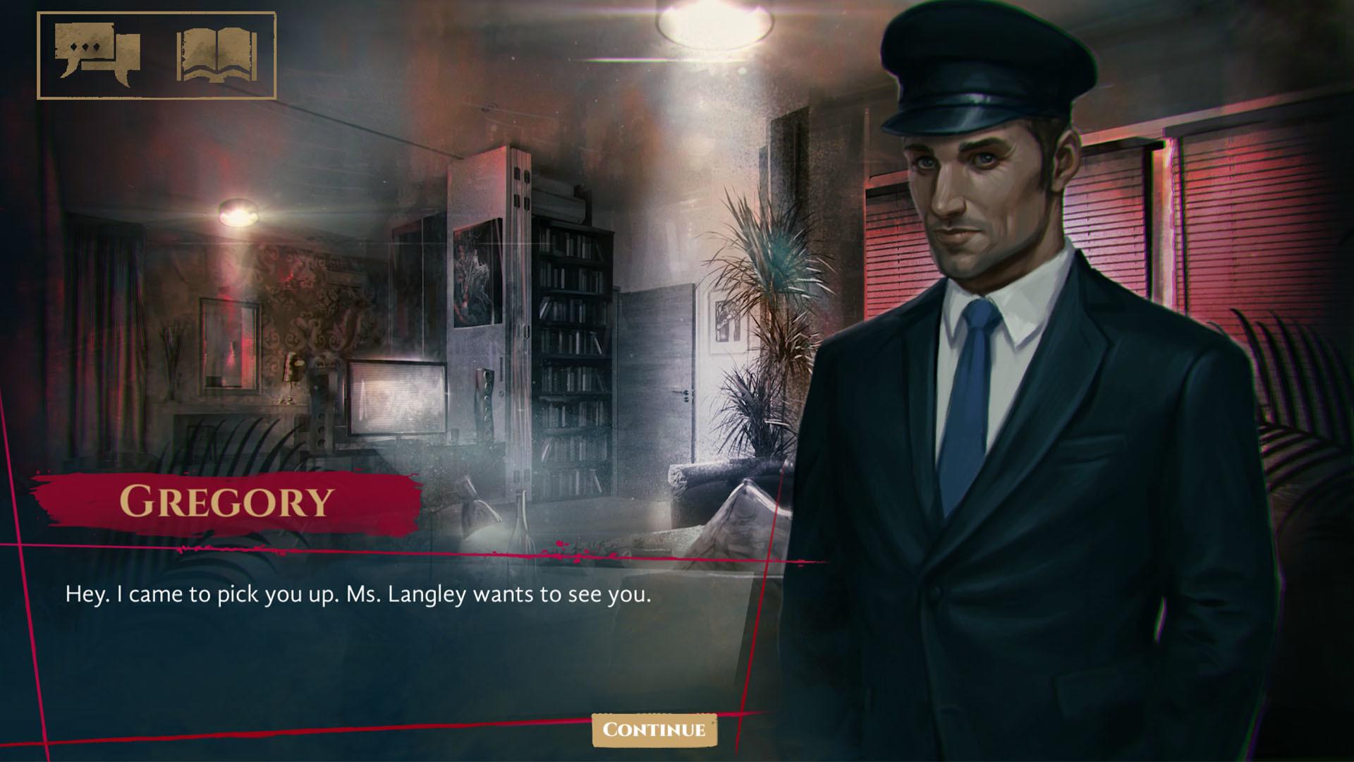 一款吸血鬼题材的独立文字冒险游戏