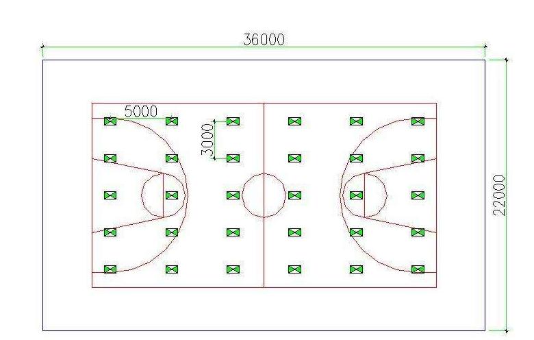篮球场馆照明标准以及相关的篮球场馆灯光设计方案