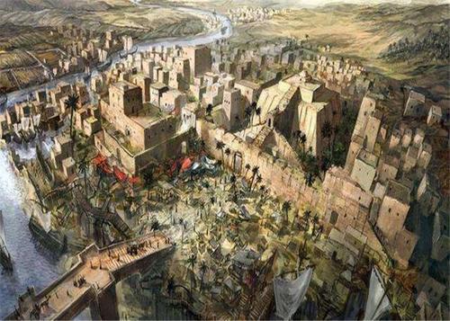 """传说中的古代文明——""""美索不达米亚"""""""
