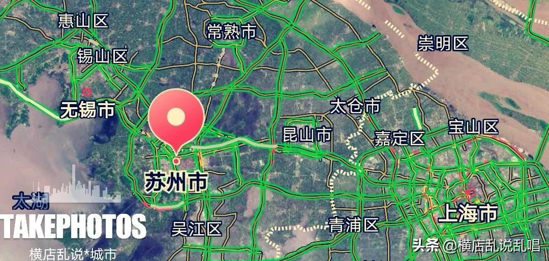"""江苏苏州城市""""野心勃勃"""",或许人口还能突破1500万,比肩宁杭"""