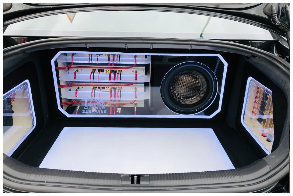 奥迪A6升级Accuton艾卡顿 陶瓷盆三分频坐享Hi-end级靓声