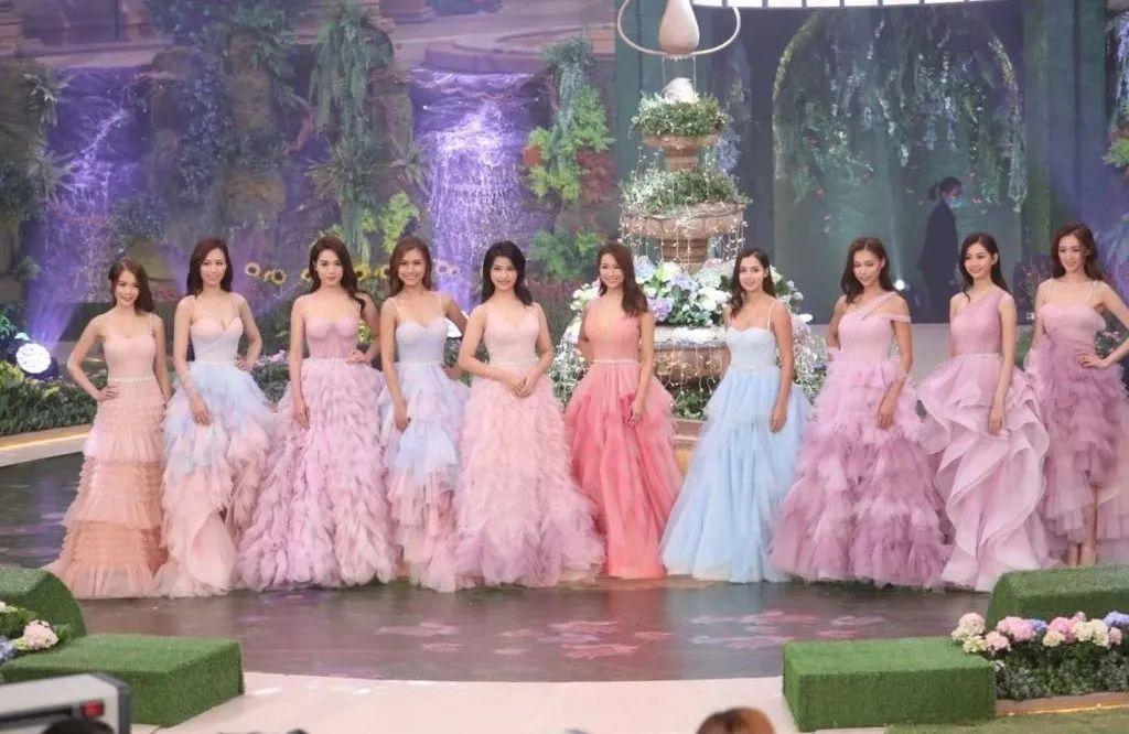 2020年TVB香港小姐总决赛结果出炉,冠军被封最靓混血港姐