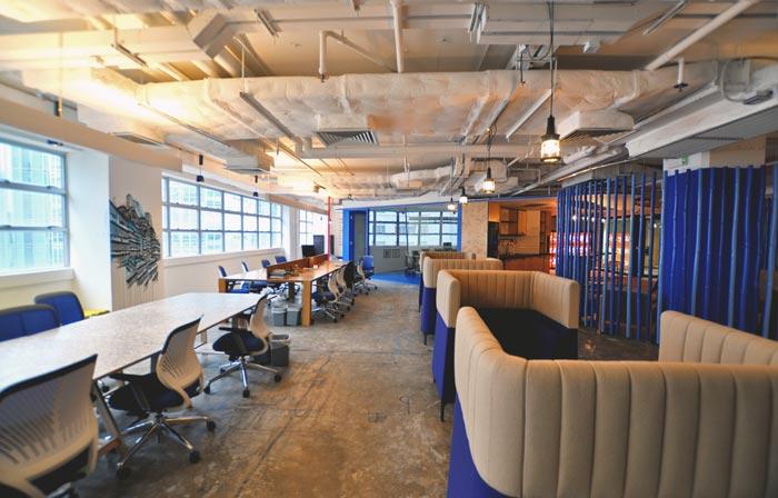 1900平方大型办公室装修设计案例