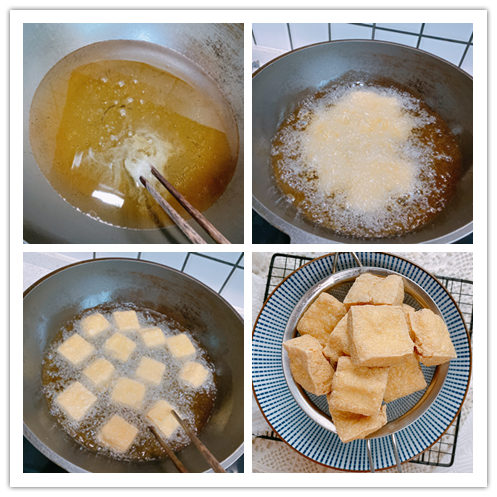 夜市摊最火的臭豆腐,在家也能做,外酥里嫩,配上秘制酱料,真香