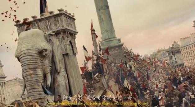 2012年音乐剧版电影《悲惨世界》:令人惊艳