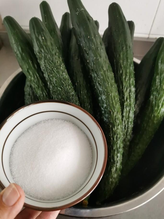 私藏多年的腌黄瓜经验,配方教给你,2个小时就能吃,开胃又下饭