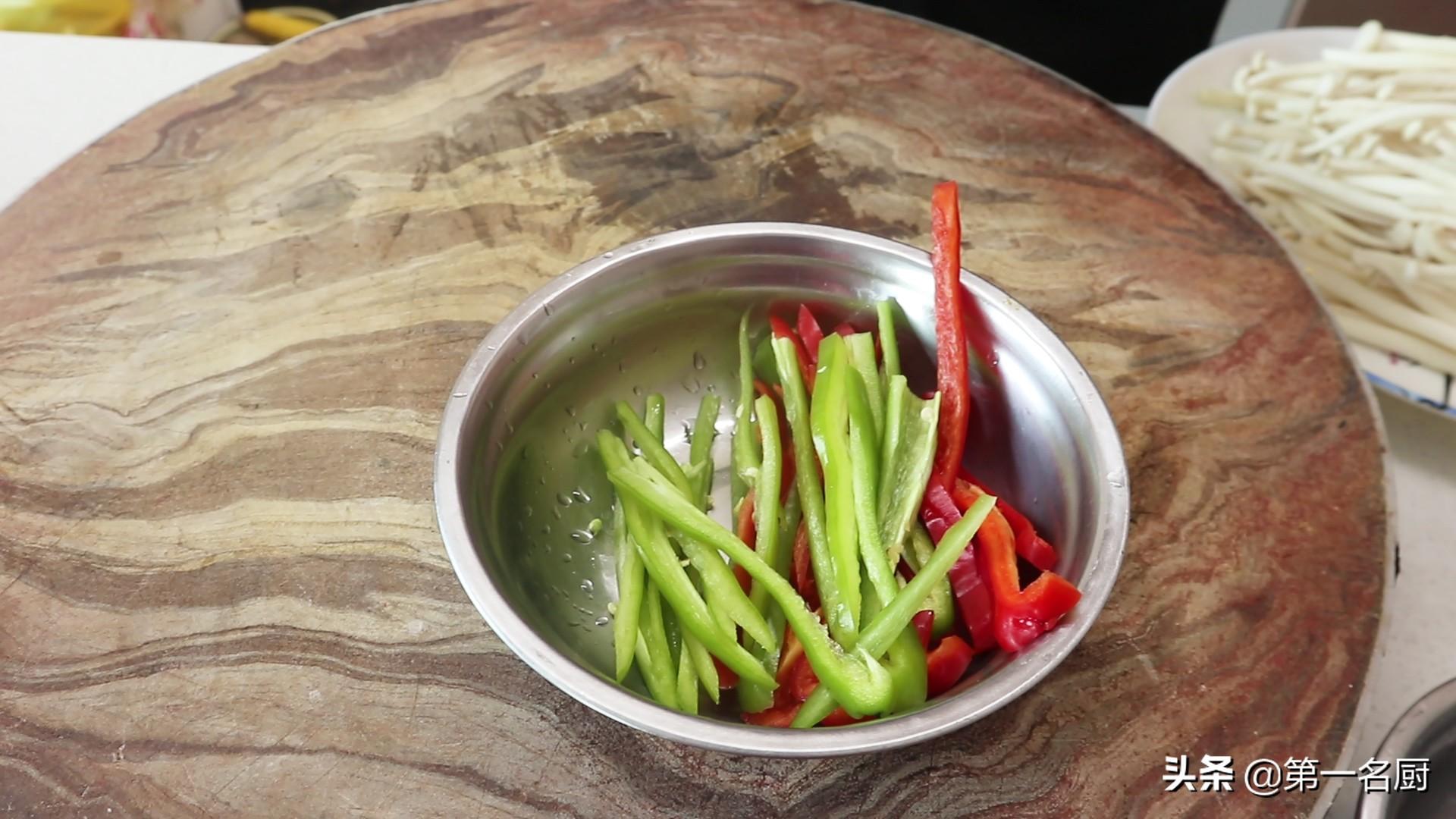 这才是白玉菇最好吃做法,不用放肉,鲜香滑嫩不油腻,上桌就抢光 美食做法 第2张
