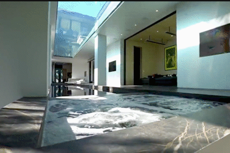 家庭亚克力透明游泳池过滤设施