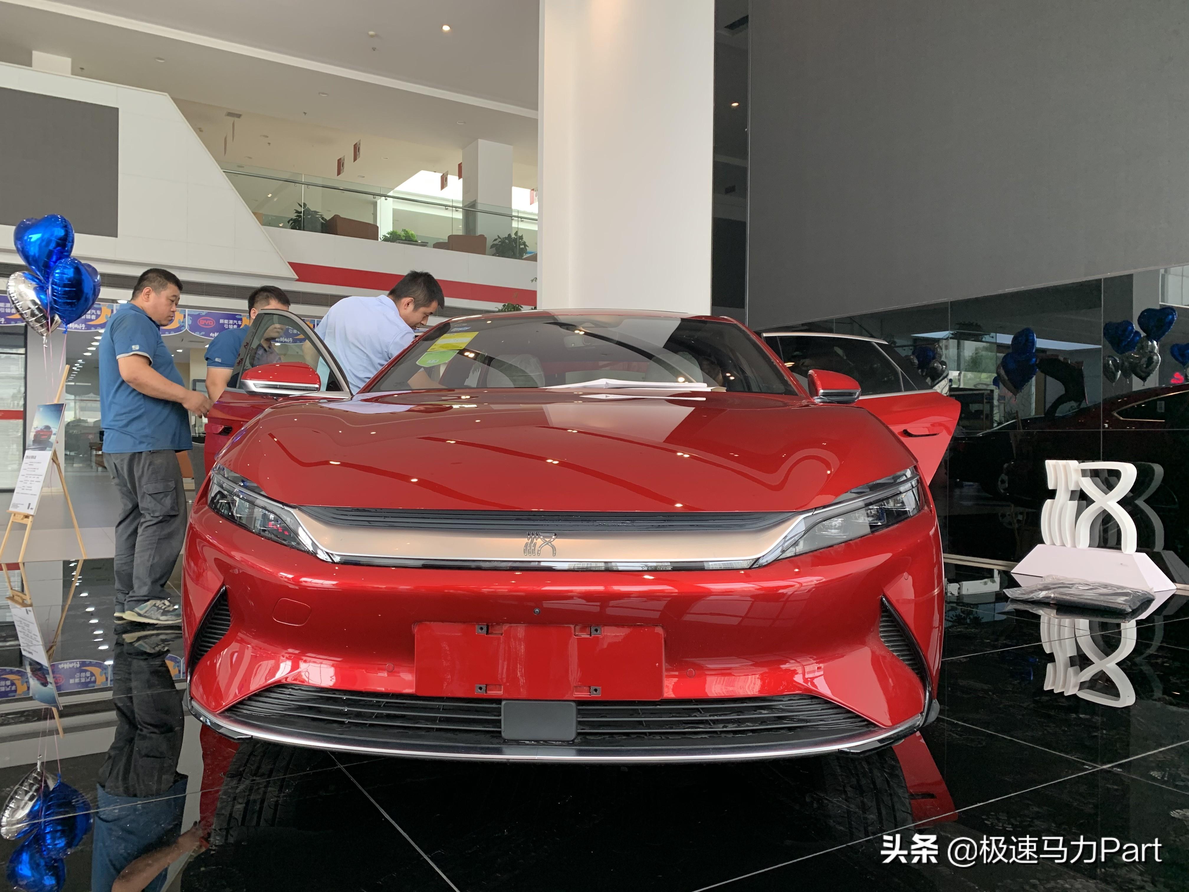 性價比最高的新能源汽車——比亞迪漢EV