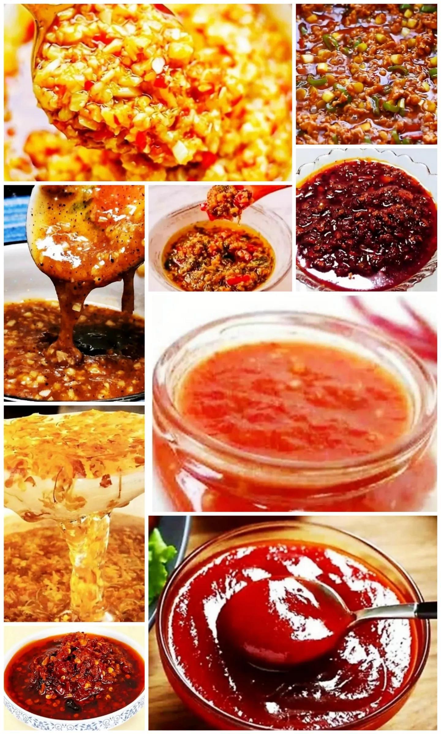 今天教大家各种酱的做法,超级好吃的拌饭酱 美食做法 第1张