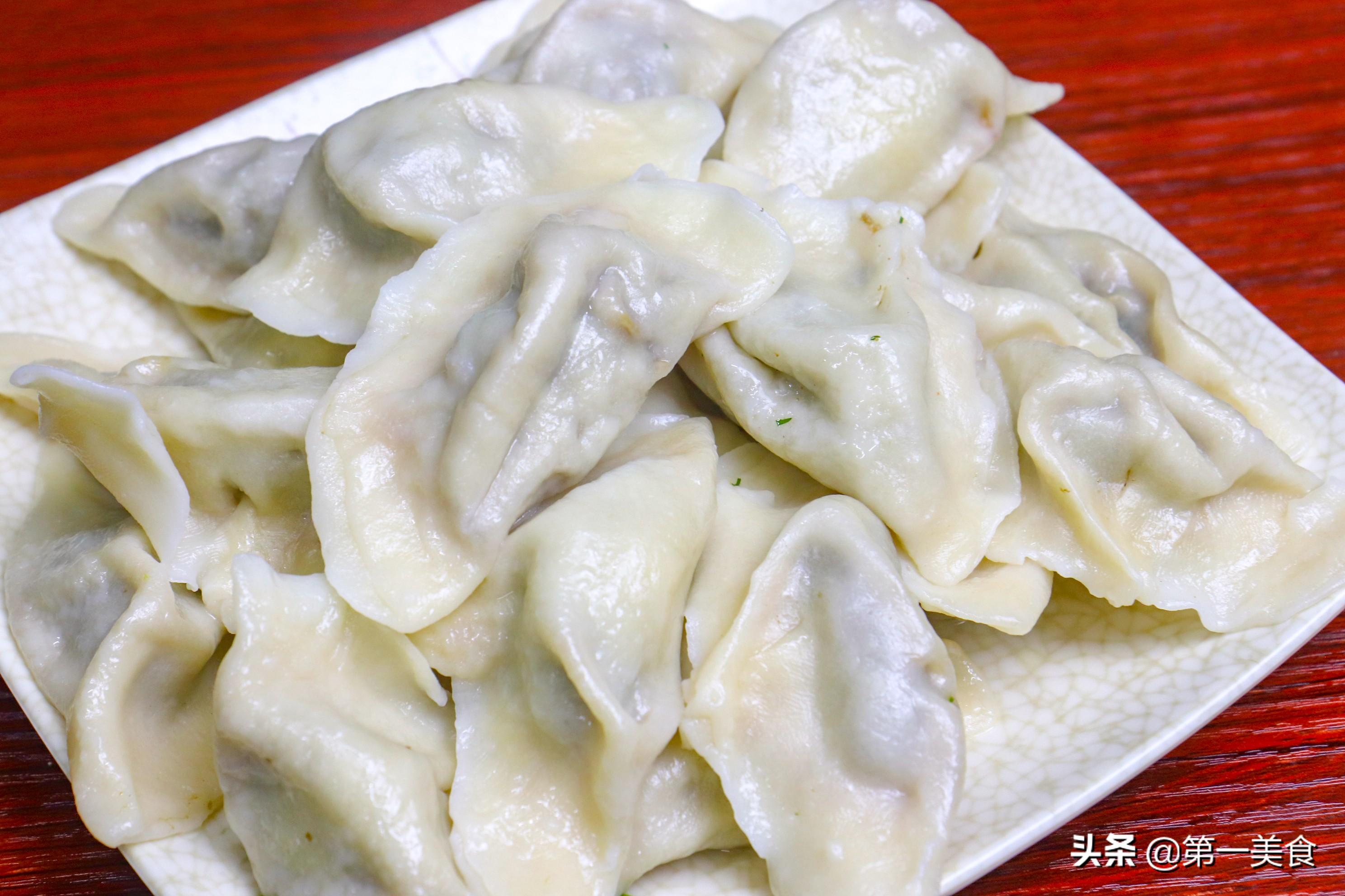 河南人的年夜饭-饺子来啦!猪肉茴香馅 过年饺子不能少