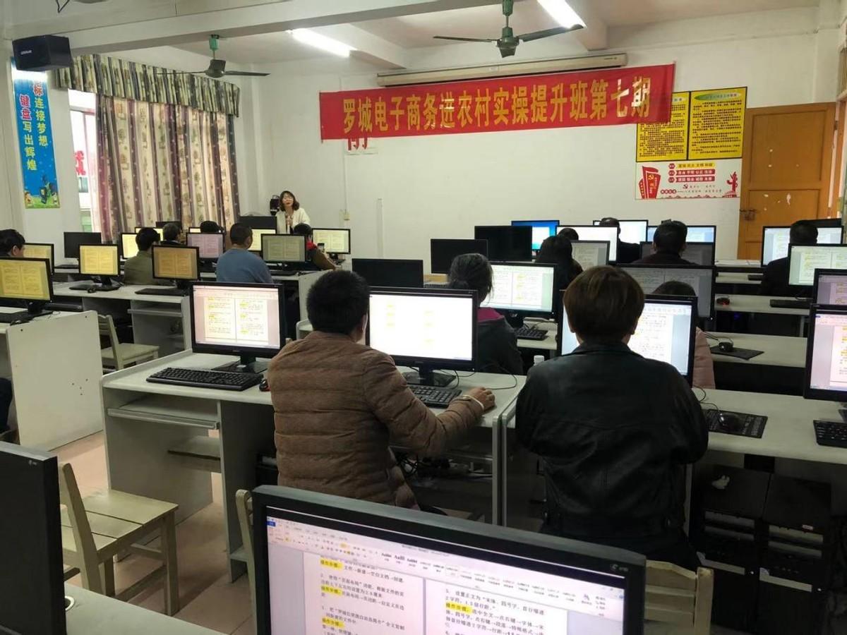 罗城仫佬族自治县互联网应用软件技术实操技能培训圆满结束