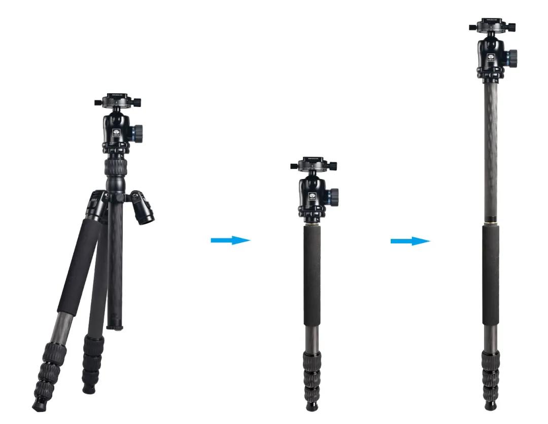 思锐新品上市︱MT-2204+MT-20三脚架套装
