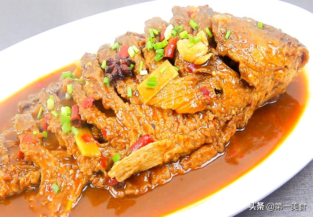 厨师长教你做家常红烧鱼,学会这些技巧,不破皮不粘锅,味道鲜美 美食做法 第12张