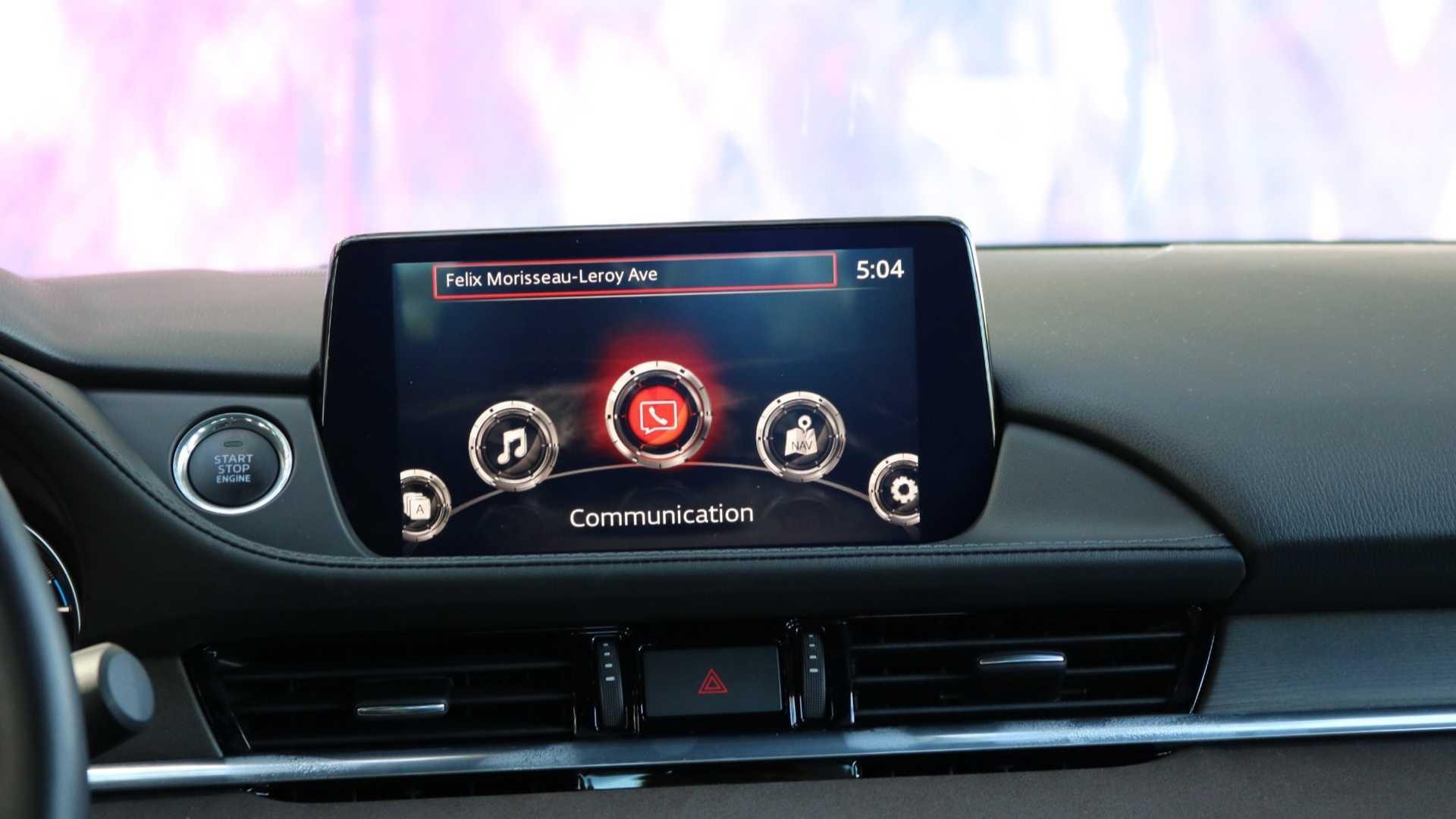马自达新款阿特兹于9月下旬发布 部分配置升级/搭2.5T引擎