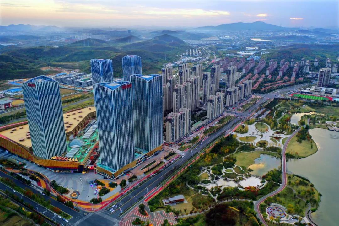 山水诗意!栖霞打造紫东城市中心公园
