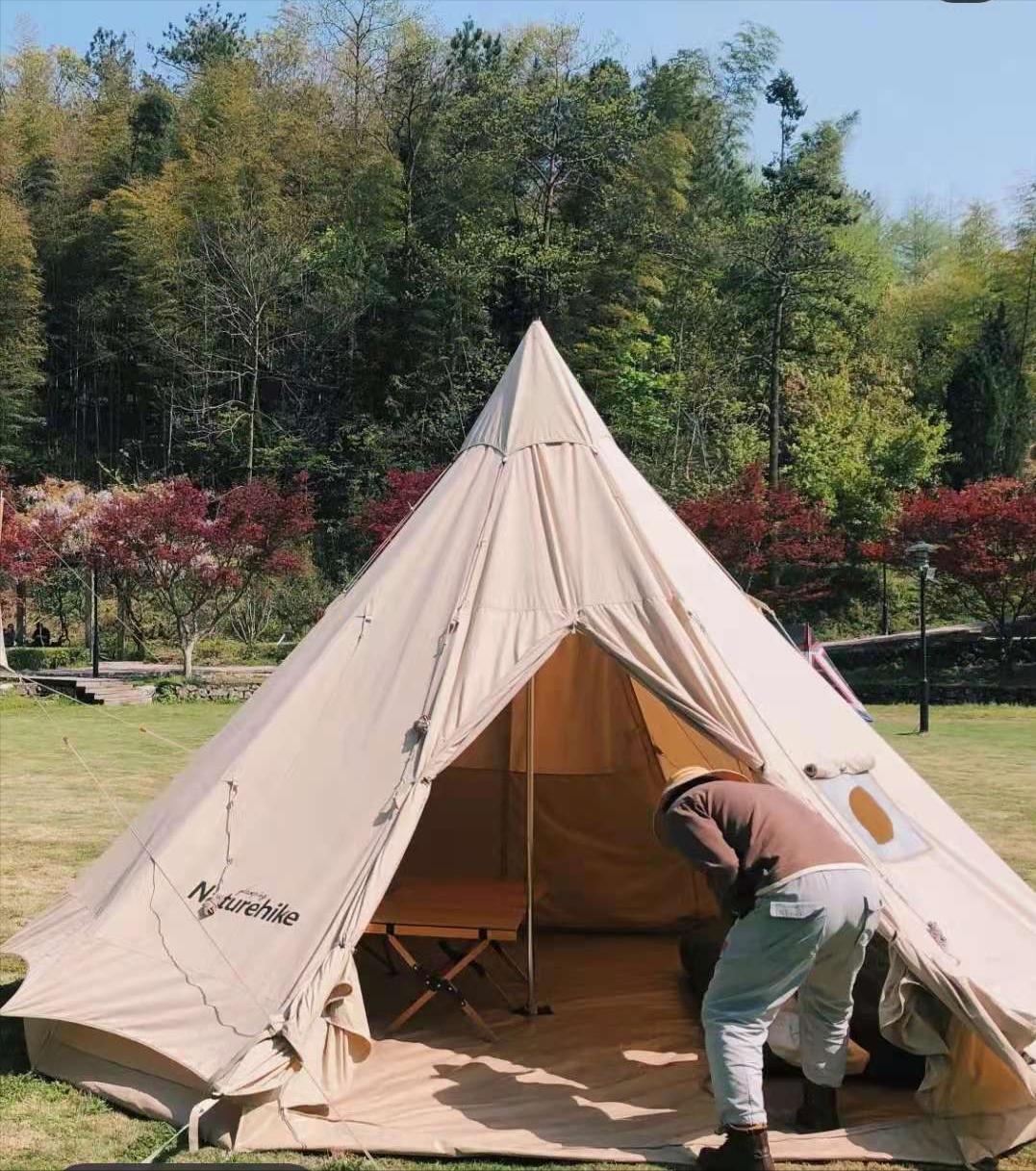 宁波五一去哪玩?私藏一个小众露营地,超大高山草坪任意撒欢