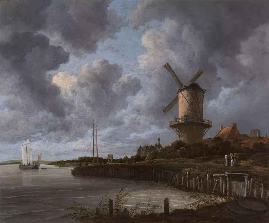 荷兰的雷斯达尔——古老的光影中存在着诗意