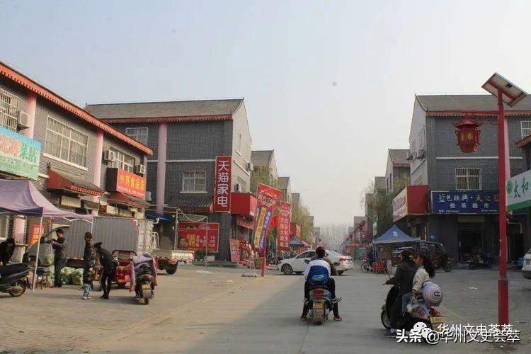 秋冬交替时节的华州柳枝古镇