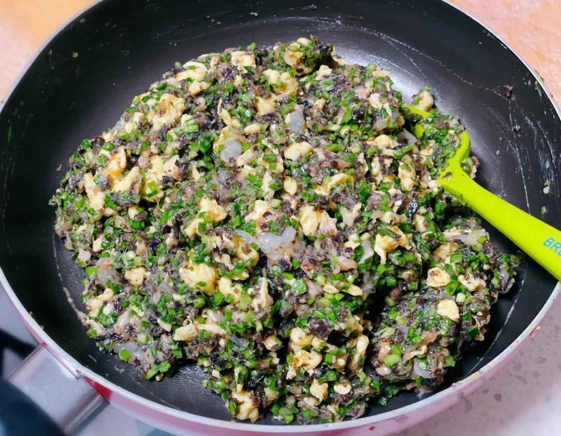 正宗的三鲜馅水饺,味道鲜美,健康营养 美食做法 第6张
