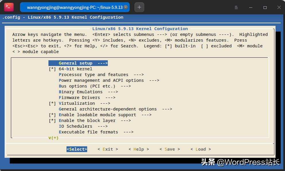 深度操作系统内核升级到5.9.14