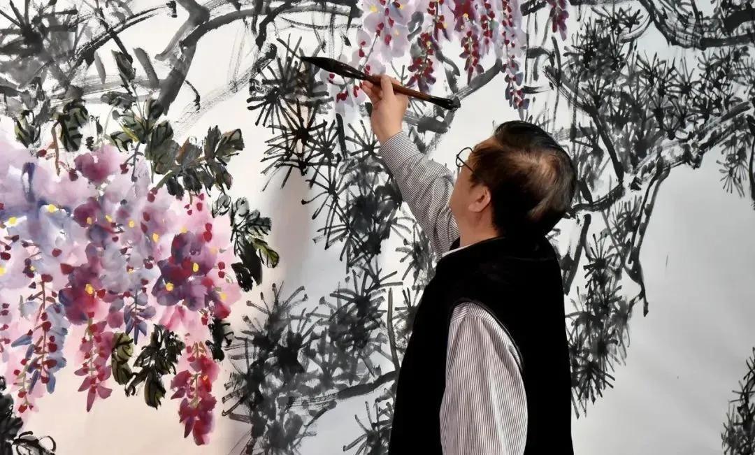 著名艺术家吴悦石、范存刚、徐里共创《春满人间》 联袂助阵2021大美之春