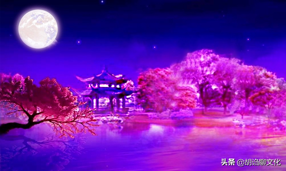 唐伯虎对着月亮把酒高歌,连呼9声李白,还说自己比李白长得帅