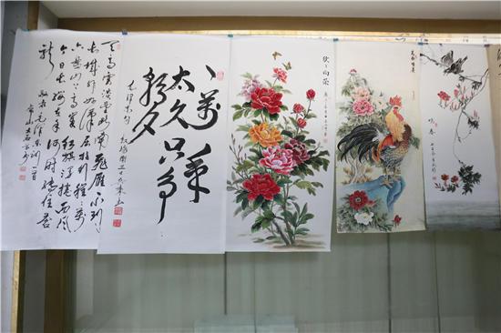 江山美如画·伟业贯乾坤纪念毛泽东同志诞辰127周年书画展开展