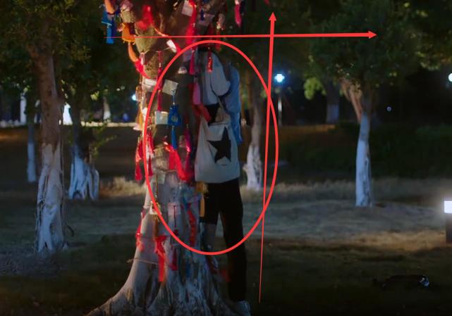 """《以家人之名》李尖尖被凌霄抱着""""树咚""""吻,谁注意她腿?真实了"""