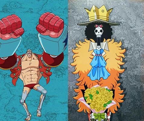海賊王:假如草帽團成員轉型海軍,路飛成為元帥,三戰力變三大將