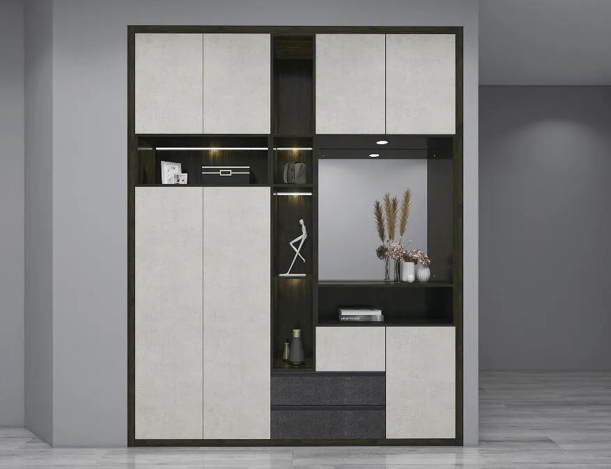玄关柜巧设计,让进门第一眼成为亮点