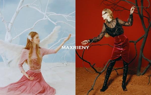 """MAXRIENY主题""""天使与恶魔"""",捕捉每个女孩心底真实的自己"""