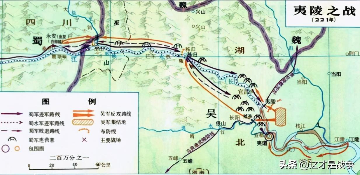 三国演义三大战役(夷陵之战的交战双方是谁和谁)