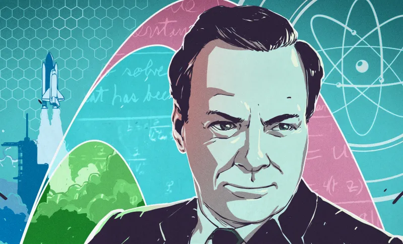 诺奖得主费曼谈教育:父亲是如何从小启发我的科学思维的?