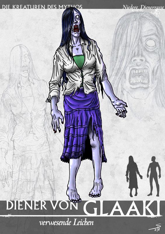 克苏鲁神话生物——格拉基之仆
