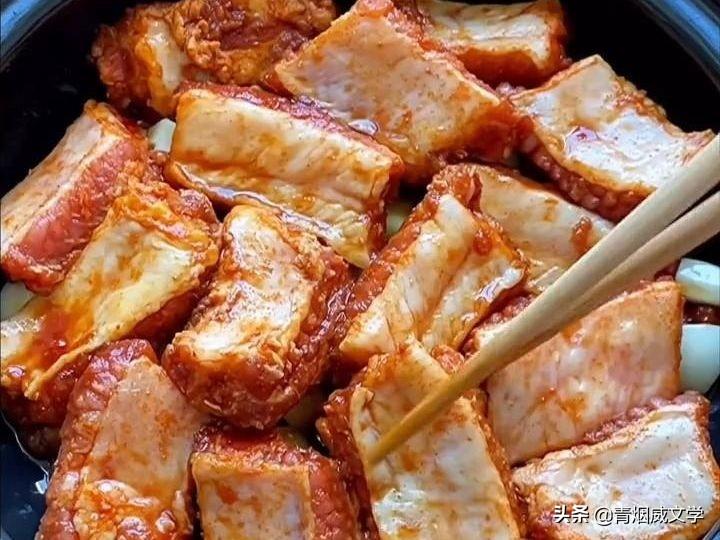 排骨焖玉米的做法,简单易学,美味好吃 美食做法 第6张