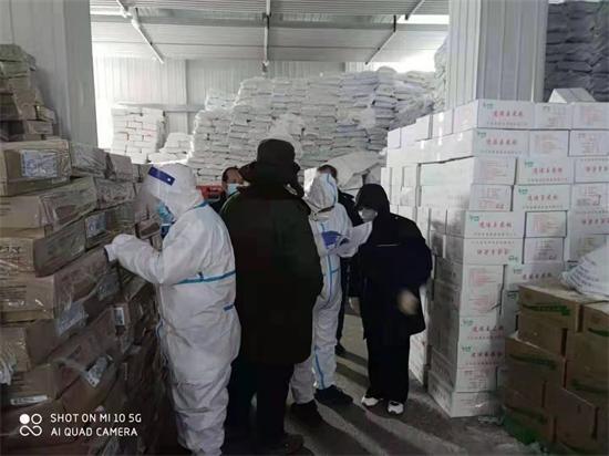 龙城区部门联动多措并举严防通过进口冷链食品输入疫情风险