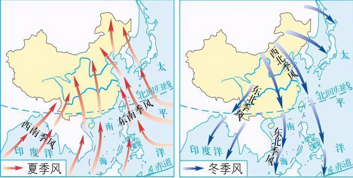 高中地理――每日讲1题(亚马孙河、东北信风、夏季风、海陆风)