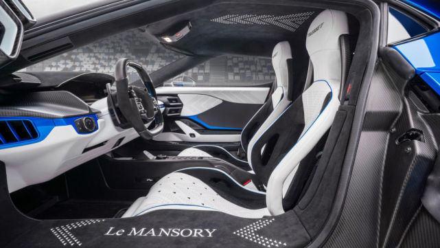 全球限量3台,Mansory把福特GT改得像法拉利