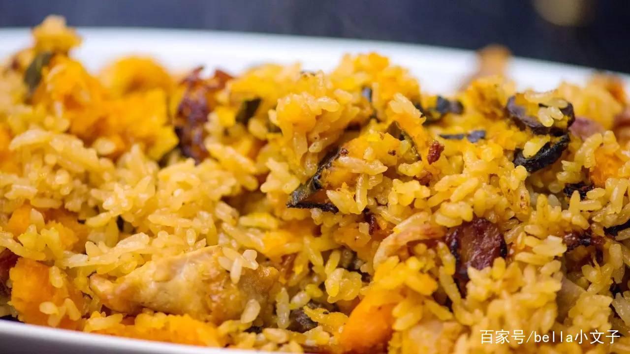 南瓜饭,让人怀念的潮汕美味 美食做法 第1张