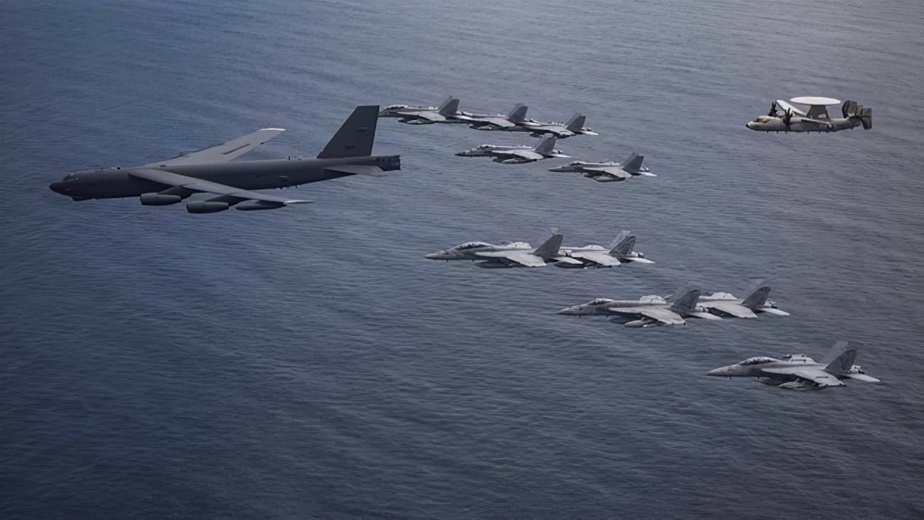 中美台海激烈交锋!美十余架军机逼近台海,解放军全程监视并广播驱离
